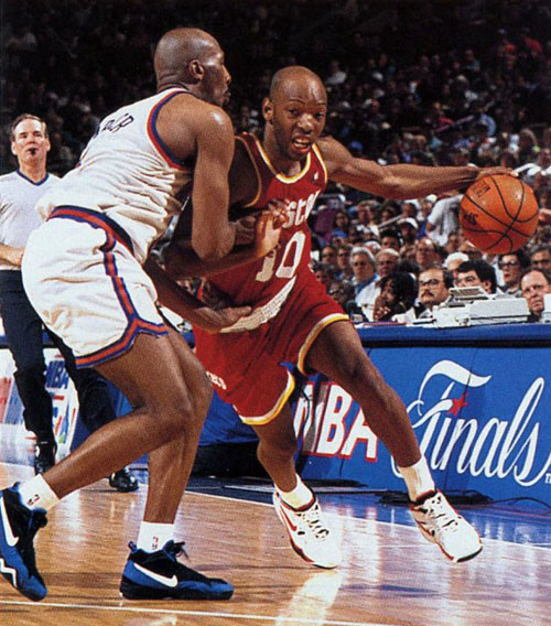 derek harper knicks sam cassell nba finals 1994