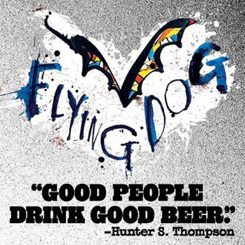 Flying Dog Beer Hunter S Thompson Ralph Steadman