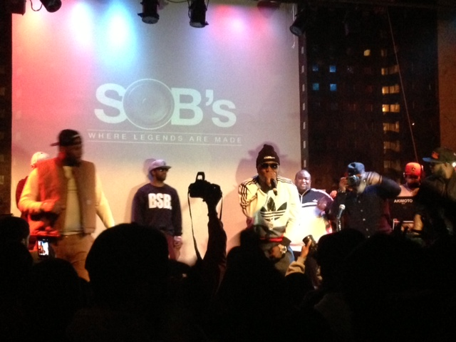 Troy Ave SOBs Hot 97 Who's Next concert showcase