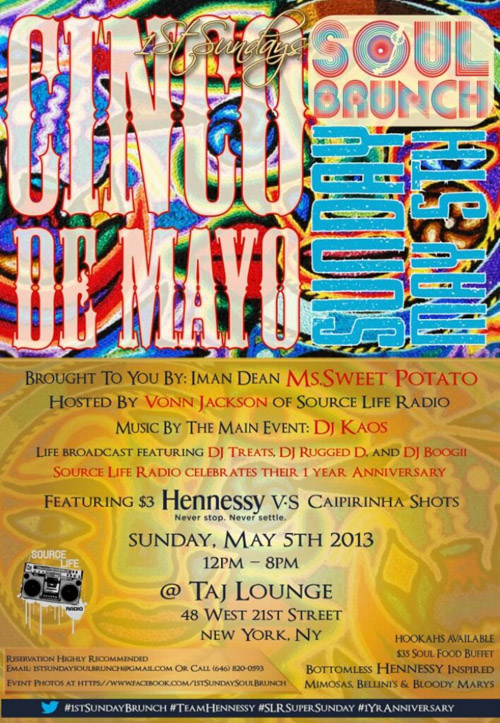 Source Life Radio Brunch Cinco De Mayo Party