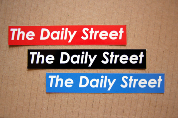 The Daily Street Sticker Supreme