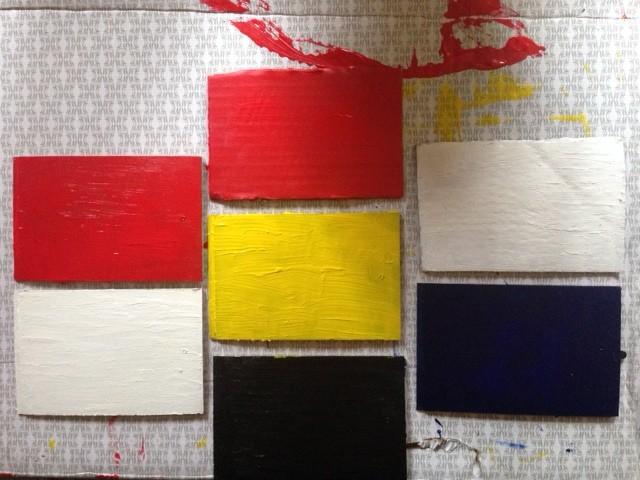 Piet Mondrian painting neoplasticism